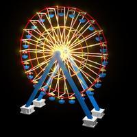 Ferris wheel cover