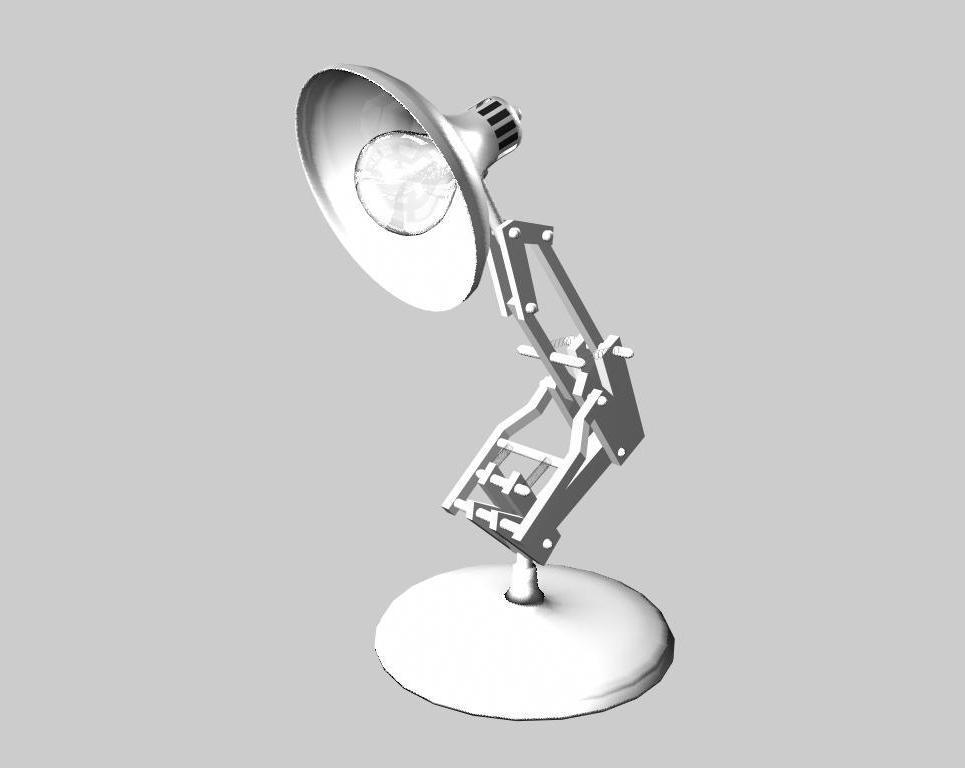 Pixar lamp show