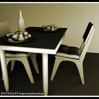 Teble chair cover