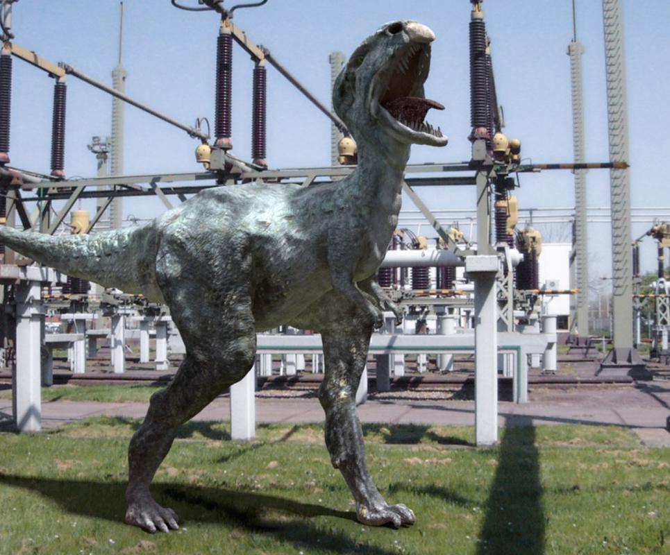 Dino outdoor show