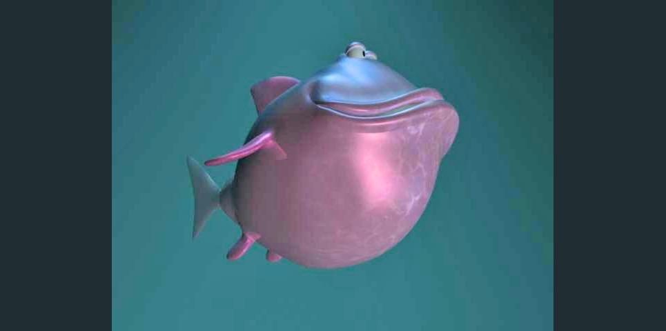 Fish cartoon3b show