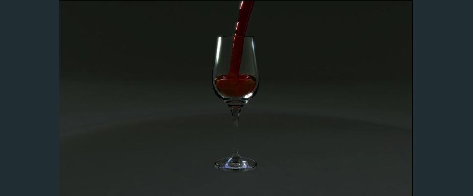 Wine pour show