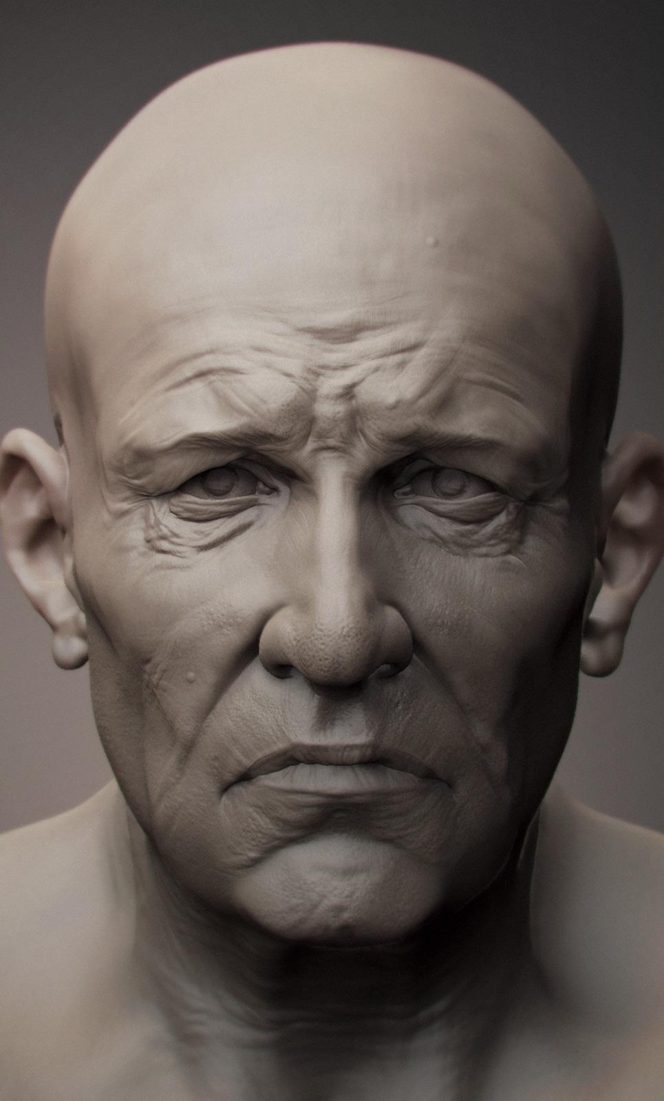 Miner sculpted portrait show