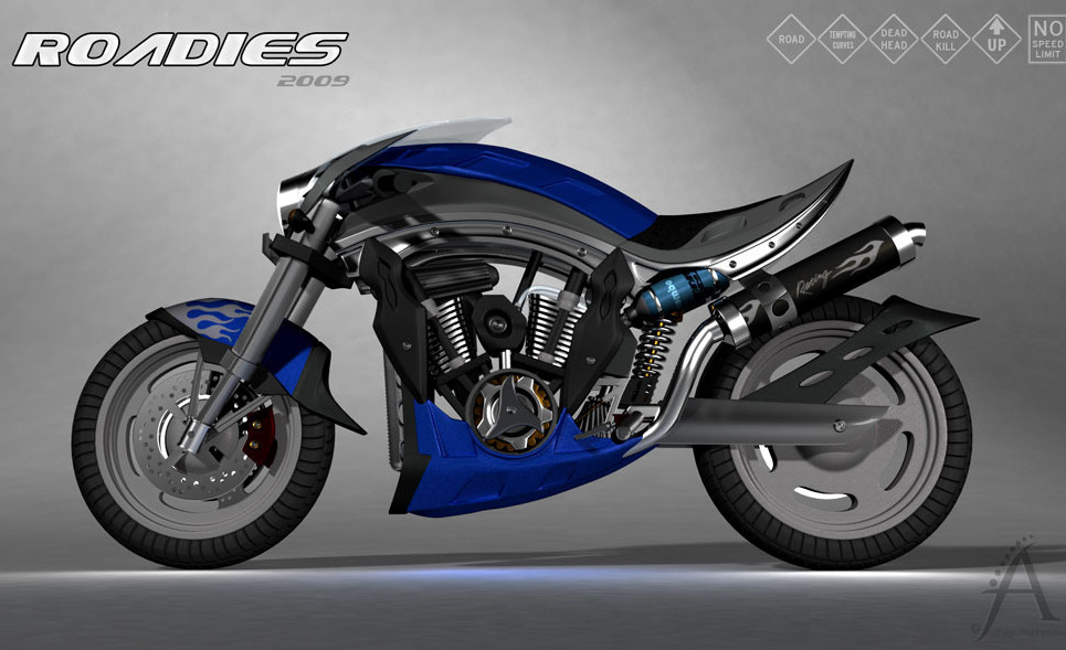 Concept bike 3 large show