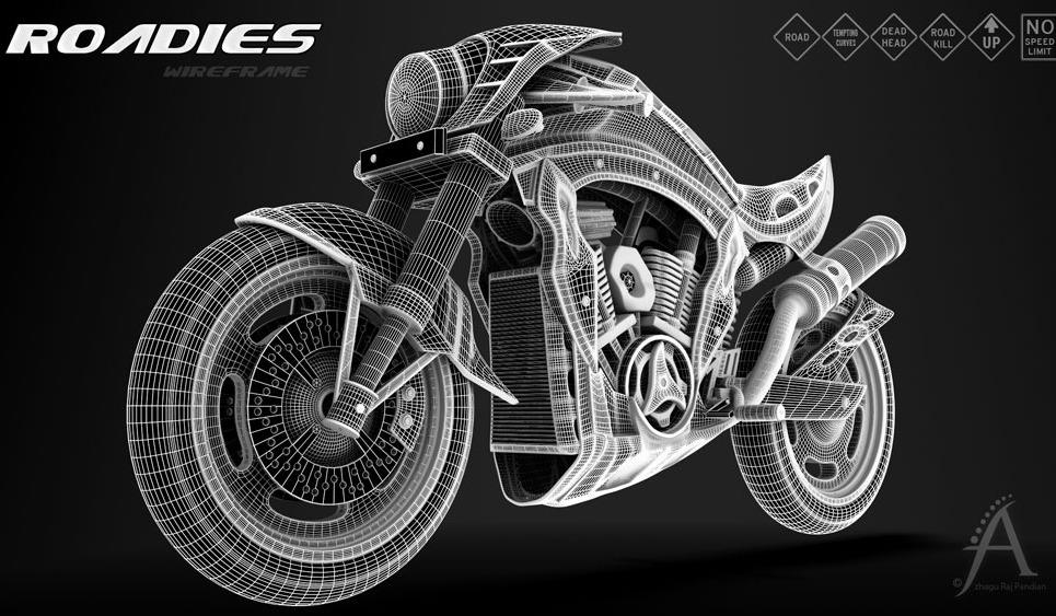Concept bike 4 large show