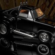 Car black truk small