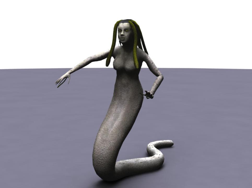 Medusa render lg show