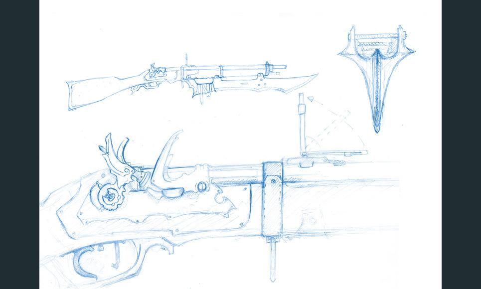 Rifle concept show