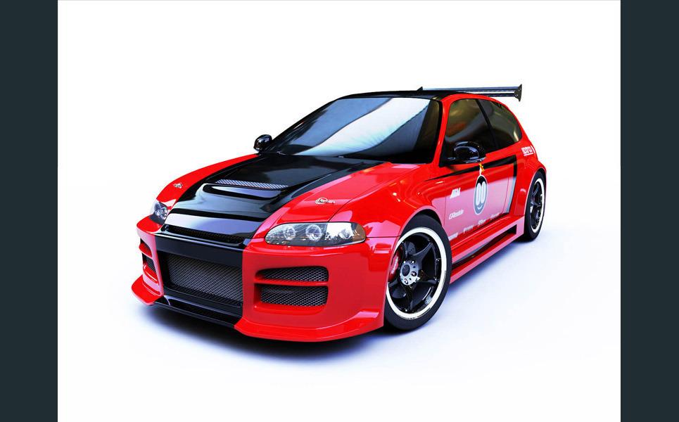 Honda front 800 show