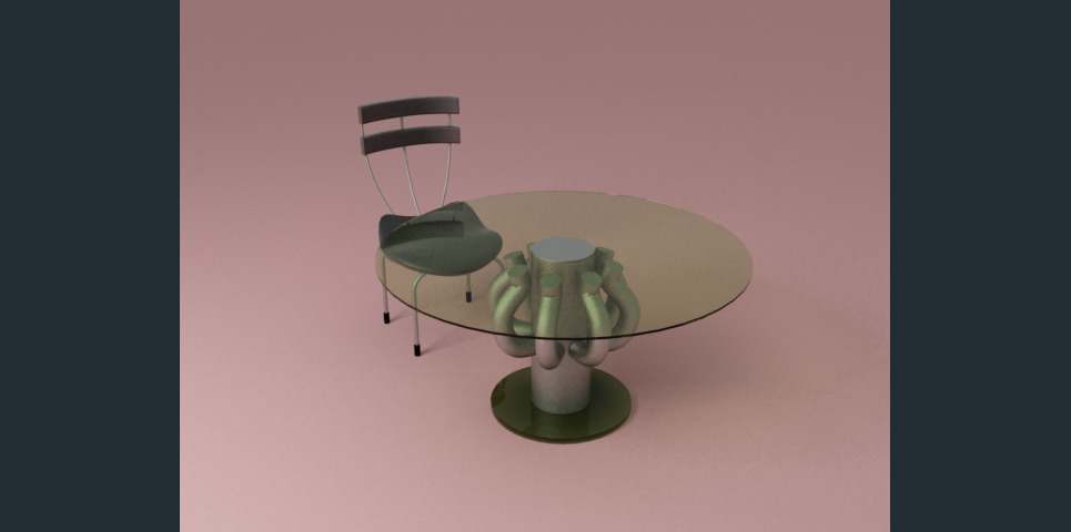Table and chair show