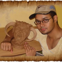 Clay model cover