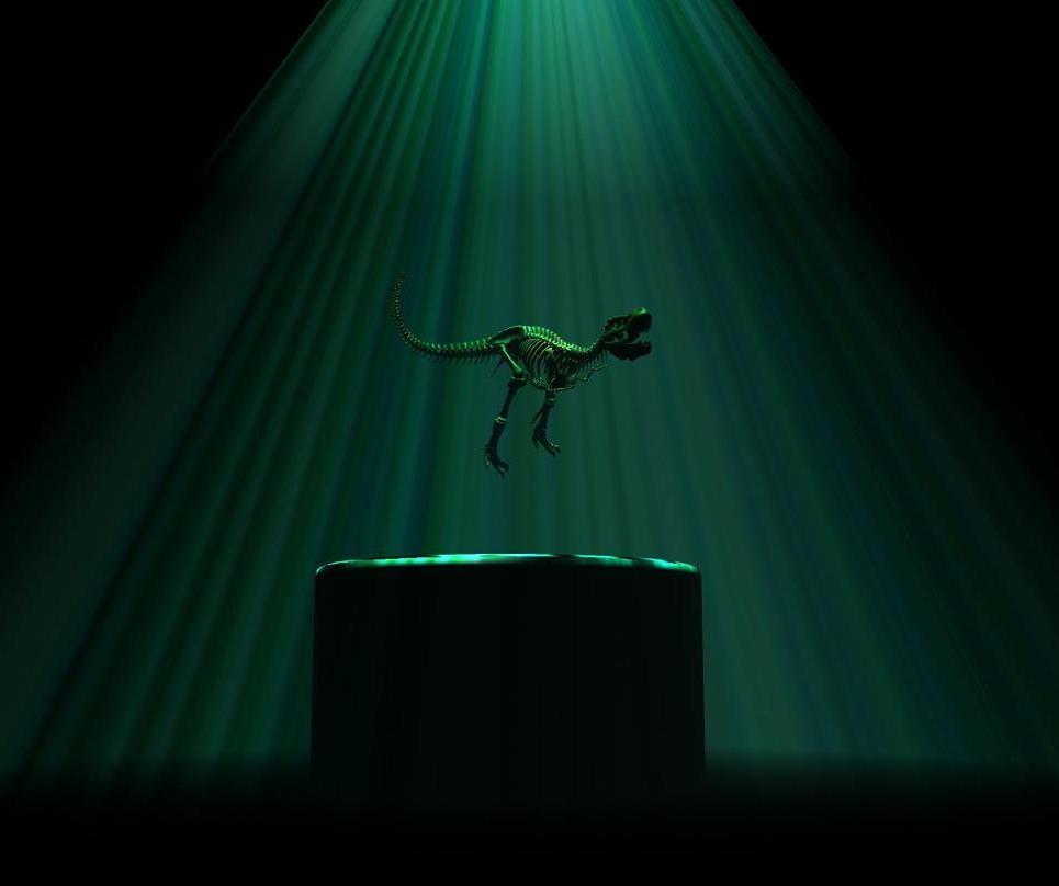 Dinolight show