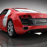 Audi still back cover