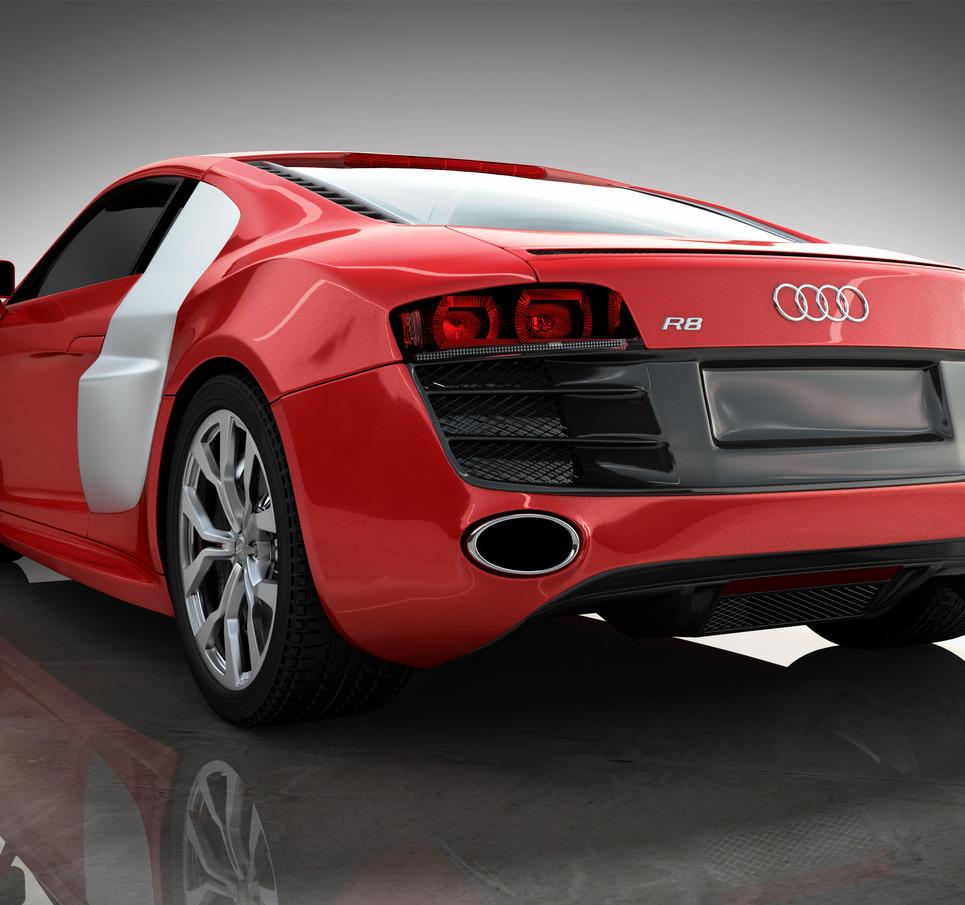 Audi still back show