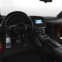 Audi still interior cover