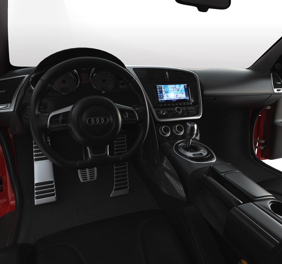 Audi still interior show
