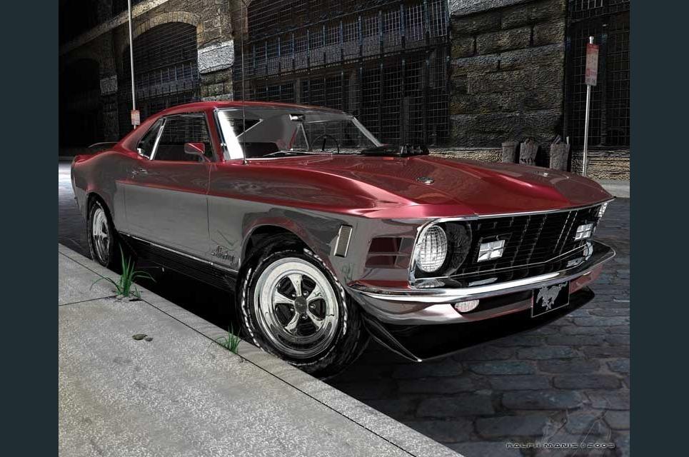 1970 mach1 cobrajet show