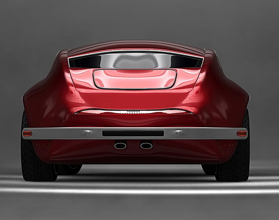 As shark concept car7 show