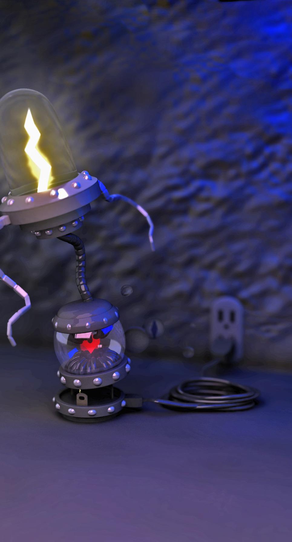 Robot copy show