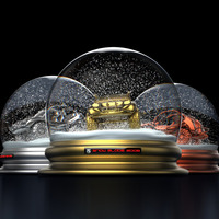 3 snow globes cover