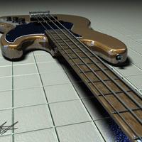 Jazzbass4 neck cover