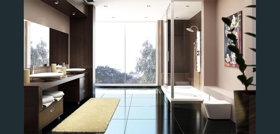 Apartment1 bathroom show