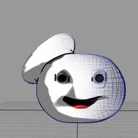 Stay puff marshmallow man in 3d cover