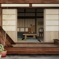 Japanese living room cover