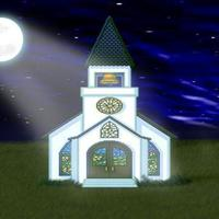 Church at night cover