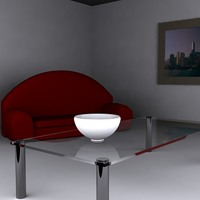Table sofa cover