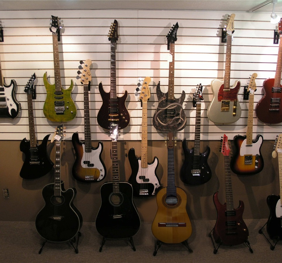 Lower guiter show