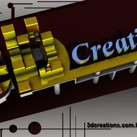Logo 3d criations cover