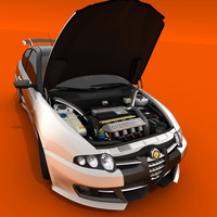 Alfa gta motor esapament b cover