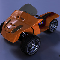 Edge car front cover
