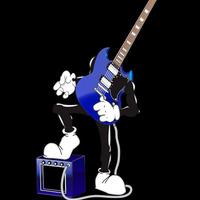 Rock guitarman cover