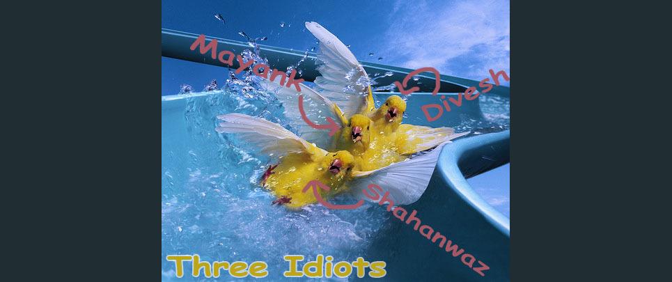 3 ideots copy show