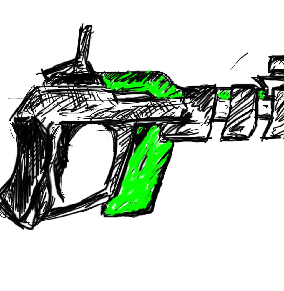 Alien pistol show