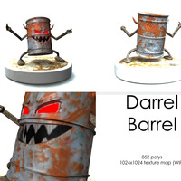 Montage barrel cover