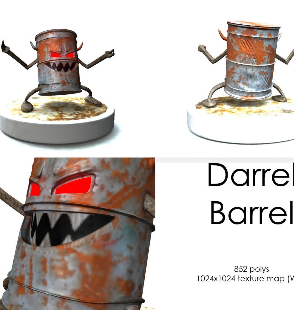 Montage barrel show