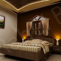 Bed room cover