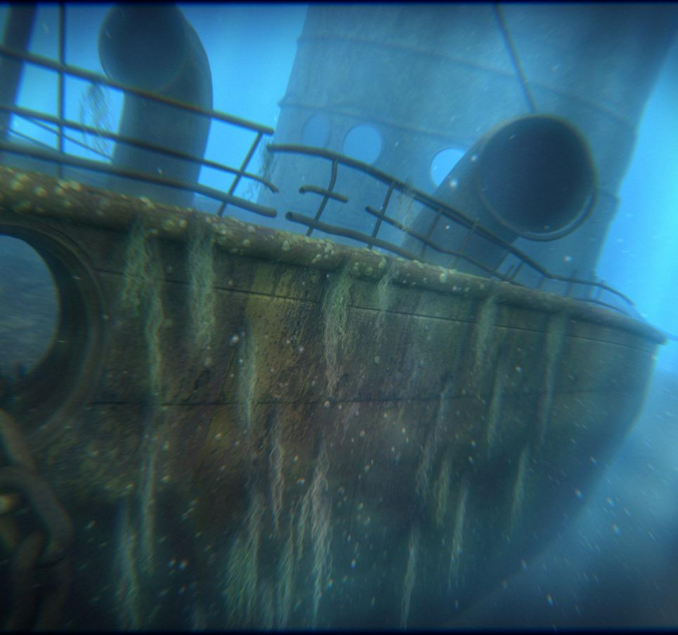 Shipwreck show