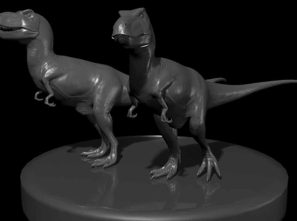 T rex show
