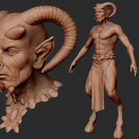 Thefaun v04 sculpt cover