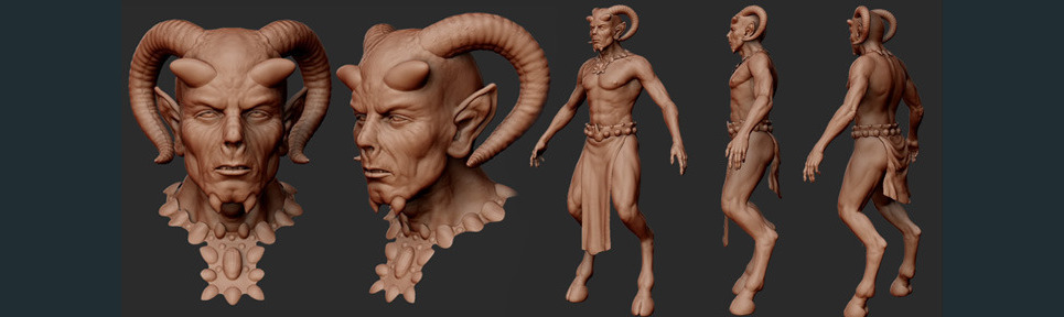 Thefaun v04 sculpt show