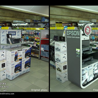 Display epson cover