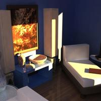 3d architectural render interior 3 cover