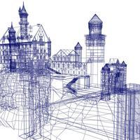 お城2 wire cover