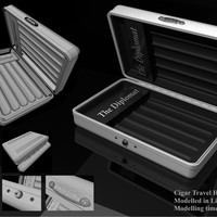 Cigar travel humidor. speed modelling challenge   031   is it safe  cover
