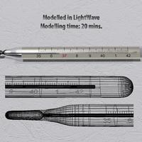 Clinical thermometer. speed modelling challenge   033   it s getting hot in here  cover