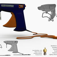 Glue gun.  speed modelling challenge   050   power tools  award cover